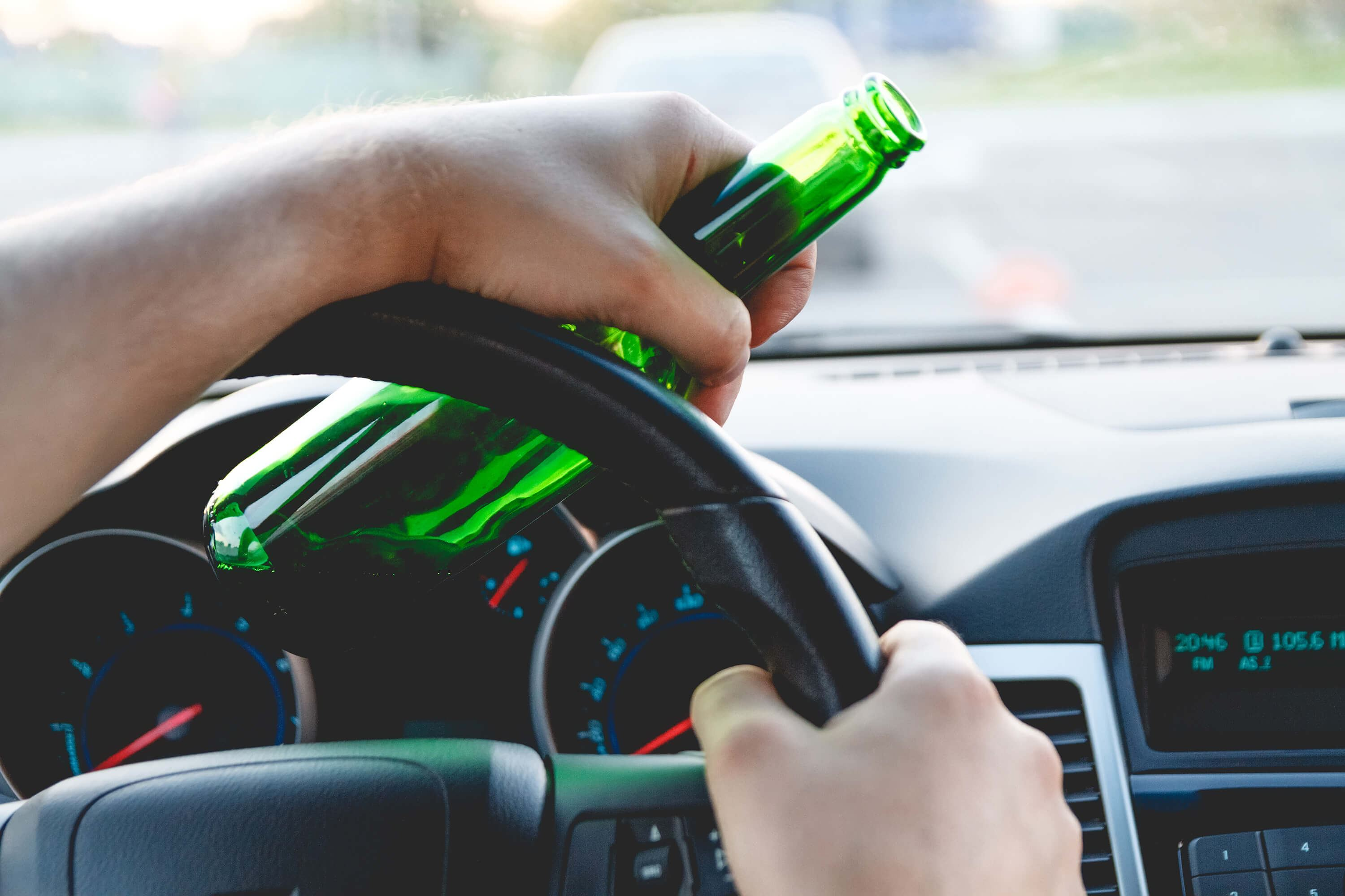 Driving with a beer - actual physical control